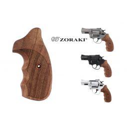 Echtholzgriffschalen für Zoraki Revolver